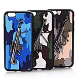 PC Woodland Metal Mobile phone Case for iPhone6 Assorted Color