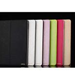 caja de cuero de la PU con la cubierta del caso del soporte para el iPad Mini 3/2/1 (colores surtidos)