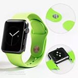 Apple Watch Band,Soft Silicone Replacement Sport Wristbands Straps for Apple Watch 38mm 42mm