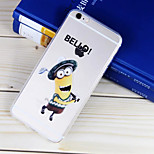 Golf Partner Pattern TPU Material Soft Phone Case for iPhone 6/6S