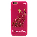 Dragon Dog Pattern TPU Case for iPhone 6S/6