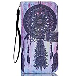 Dreamcatcher Pattern high Quality Wallet Hand Rope Section Phone Case for iPhone 6/6S
