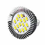 HRY® 8W MR16 16XSMD5630 650LM Warm/Cool White LED Light Bulbs LED Spot Lights(DC12V)