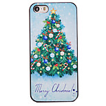 Christmas Style Nice Christmas Tree Pattern PC Hard Back Cover for iPhone 5/5S