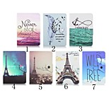Tower Pattern High Quality PU Leather with Stand Case for 7 Inch Universal Tablet