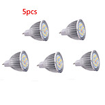 5pcs HRY® 8W MR16 16XSMD5630 650LM Warm/Cool White LED Light Bulbs LED Spot Lights(DC12V)