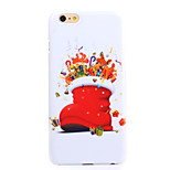 Christmas Stockings Decal UV Varnish PC Material Christmas Phone Case for iPhone 6 /6S