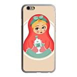 The Doll Pattern PC Hard Case for iPhone 6/6S