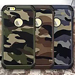 Military Camouflage Combo Back Case Cover for iPhone 6/6S(Assorted Colors)