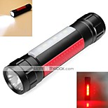 LED-Zaklampen (Waterdicht / Oplaadbaar / Schokbestendig / Slagring / Tactisch / Noodgeval) - LED 2 Mode 800 Lumens 18650 LED / Cree Q5