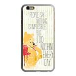 Winnie el caso duro del patrón pc Pooh para el iphone 6 / 6s