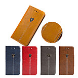 2015 New T Character PU Leather Cover for iPhone 4/4S(Assorted Colors)