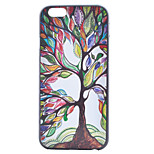 Coloured Drawing Tree Painting Pattern PC Case for iPhone 6/6S