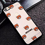 Cubs Pattern TPU and PC Material Combo Phone Case for iPhone 6/6S