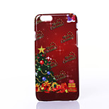 Christmas Fluorescent Tree Pattern PC Hard Case for iPhone 6/iPhone 6S