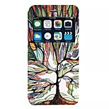 Painting tree pattern TPU+PU Flip shell Case with Kickstand For iPhone6/6s