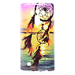 Windbell Pattern TPU Material Soft Back Cover for LG G4