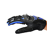 Professional Motorcycle Motocross Racing Full Finger Gloves Sportswear Cycling Outdoor Sports Gloves Blue -Scoyco