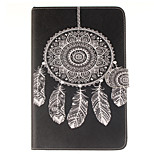 Dreamcatcher Pattern PU Leather Full Body Case with Stand and Card Slot for iPad mini 4
