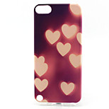 Heart Painting Pattern TPU Soft Case for iPod Touch 5