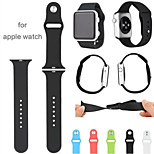 1:1 Sport Winding  Apple soft silicone strap watch 38mm/42mm  (various colors)
