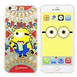 iphone 6 case volgelingen Despicable Me siliconengel TPU materiaal geval vrij headfore hd screen protector voor iPhone 6