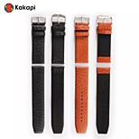 Kakapi Modern Buckle With Buffalo Hide Watchband Fashion for Apple Watch38/42mm Assorted Colors