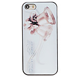 Christmas Style Silver Bell Pattern PC Hard Back Cover for iPhone 5/5S