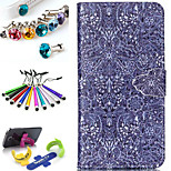 Geometric Pattern PU Leather Phone Holster Includes Stand Anti-dust Plug stylus, for Samsung Galaxy S6 Edge Plus