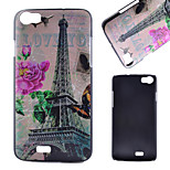 Transmission Tower Pattern PC Material Phone Case for Wiko LENNY