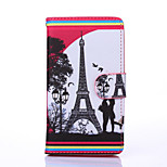 Love Pattern PU Leather Full Body Case with Stand for Multiple Sony E4/M4