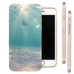 Limit Seabed Scenery TPU Material Soft Phone Case for iPhone 6/6S