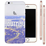 Perfect Close City TPU Material Soft Phone Case for iPhone 6/6S