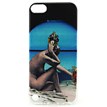 Naked Woma Painting Pattern TPU Soft Case for iPod Touch 5/Touch 6