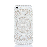 White Flowers Pattern Hard Back Case for iPhone 5/5S
