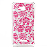 The elephant Pattern TPU Phone Case for Sony Xperia E4G