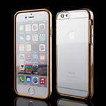 Transparent Touch Screen Full Body Case for iPhone 6 (Assorteed Color)