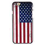 American Flag Pattern PC Back Cover for iPhone 6