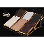Football Grain Line Leather Metal Fdge Case Back Cover For iPhone 6/6S (Assorted Color)