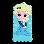 Fashion Snow Girl Silicon 3D Case for Apple iPhone6 plus / 6S plus