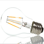 HRY® A60 4W E27 400LM 360 Degree Warm/Cool White Color Edison Filament Light LED Filament Lamp (AC85-265V)