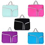 ASLING Double Pocket Zip Bag Laptop Bag For Macbook Pro 15.4