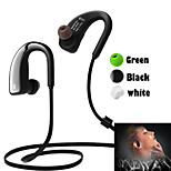 Sports V4.0 Bluetooth Earphone Wireless Headphone With MIC Handfree Sport Ear Bud Mobile for Samsung(Assorted Color)