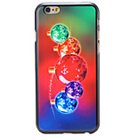 Christmas Style Colorful Bells Pattern PC Hard Back Cover for iPhone 6 Plus