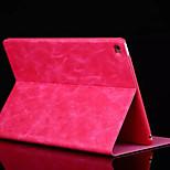 caja de cuero de la PU con la cubierta del caso del soporte para el iPad mini 4 (colores surtidos)