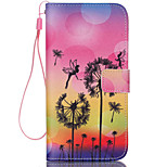 Dandelion  Pattern PU Leather Phone Case For  iPhone 6/6S