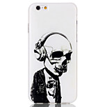 Human skeleton  Pattern TPU  Back Cover Case for iPhone 6/iPhone 6S