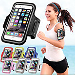 Waterproof Sports Running Arm Band Mobile Phone Arm Holder Pounch Band Belt  Case For iphone 6/6S(Assorted Colors)