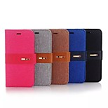 Jean Leather Wallet Card Slot Case for iPhone 6 6S