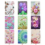 7.9 Inch Flower Pattern 360 Degree Rotation PU Leather Case for iPad Mini 4(Assorted Colors)